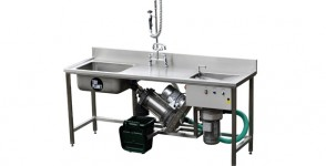 Dehydra Bench Food Waste Dewaterer