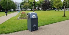 Εγκατάσταση του SolarStreetBin σε πόλη της Ιρλανδίας
