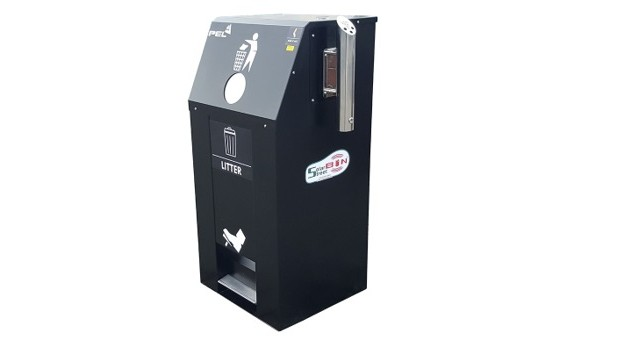 Smart City Solar Bin 240Lt