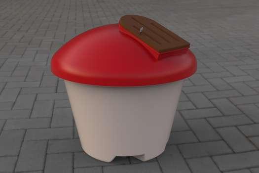 Composting bin for Schools King Wormery