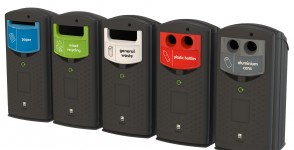 Recycling bin Envirobank 140