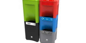 Recycling bin Envirostack