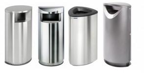 Metallic Recycling Bins