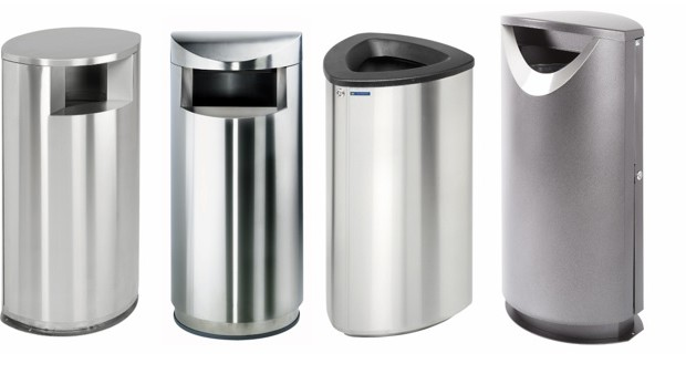 Metallic Recycling Bins