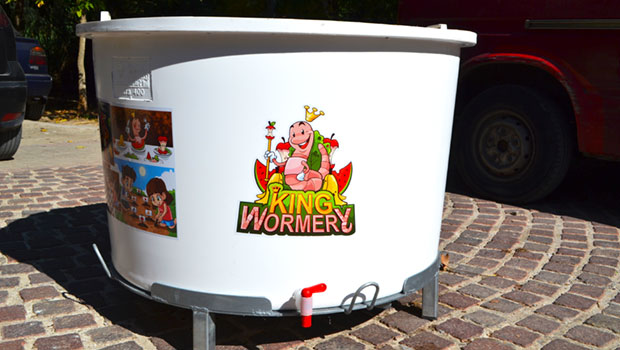 Composting bin for Schools King Wormery 1000Lt