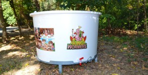 Composting bin for Schools King Wormery