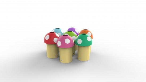 Κάδος Ανακύκλωσης Mushroom
