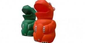 Recycling bin Hippo