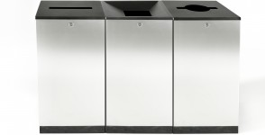 Recycling bin FinBin Edge Series