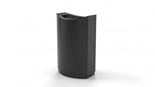 Recycling bin FinBin Wave Series